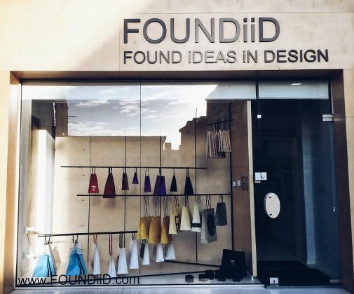 FOUNDiiD Bag Of Ideas Detail Window Design Limassol Cyprus Thumbnail