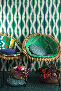 English Eccentric Interior Style Colour Confidence